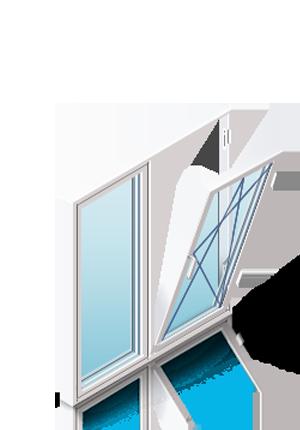 Как вставить пластиковое окно в каркасный дом